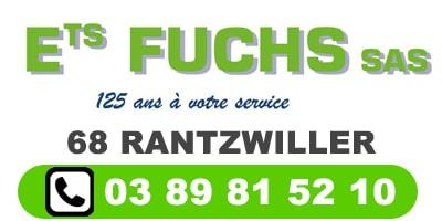 Ets H.Fuchs 68 RANTZWILLER ALSACE